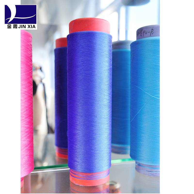 DTY Solution Color 100% Polyester Yarn