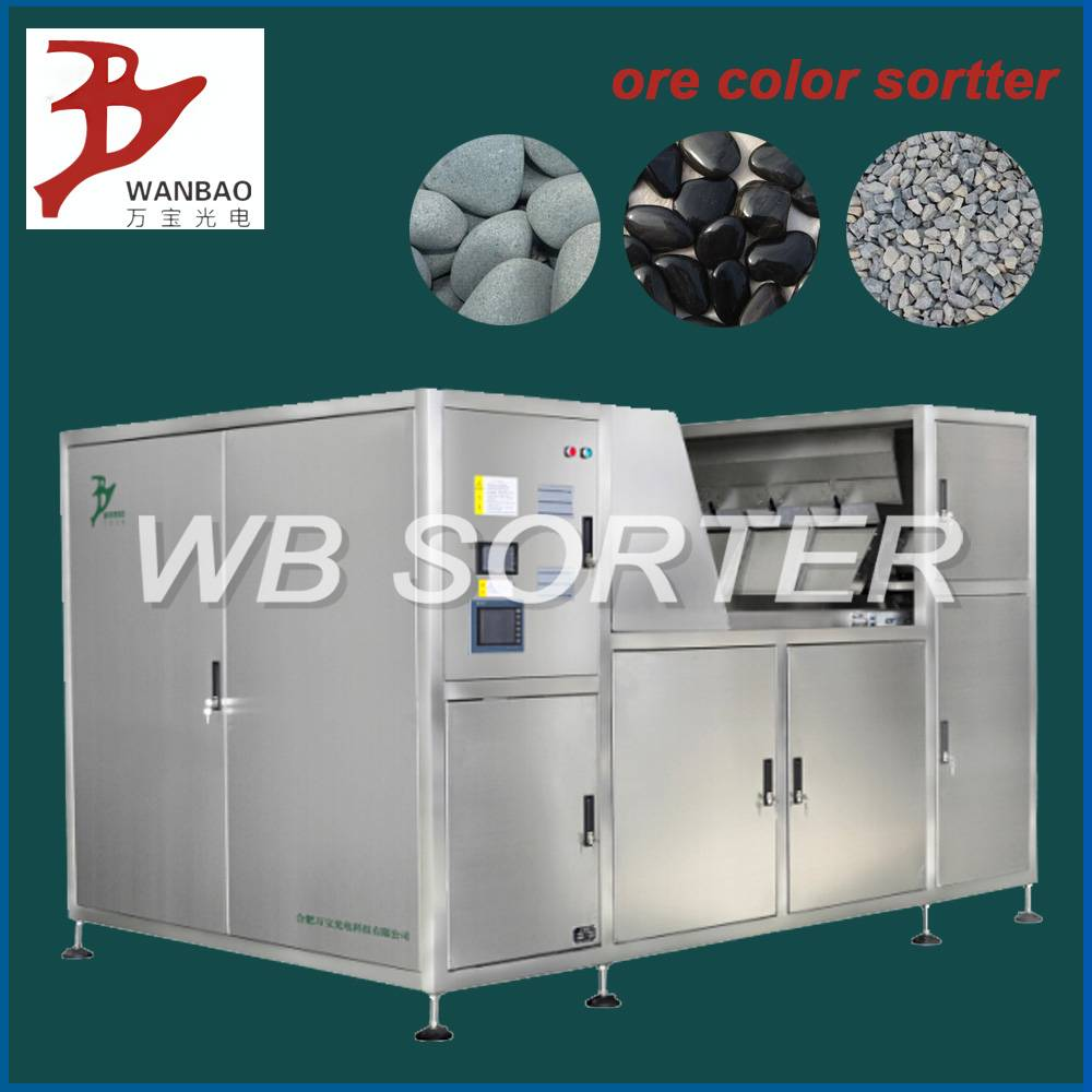 minerals color sorter machine