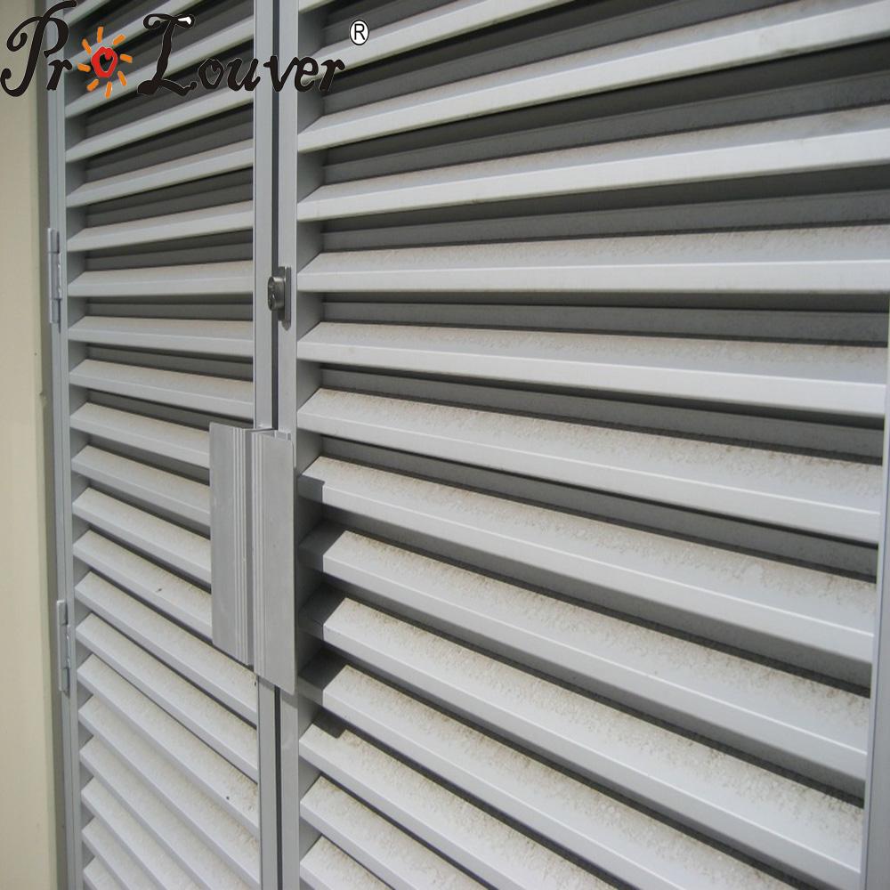 Noise control,Acoustic louver,Aluminum louver window