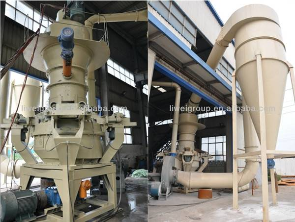 Vertical Grinding Powder Mill (VTM411)