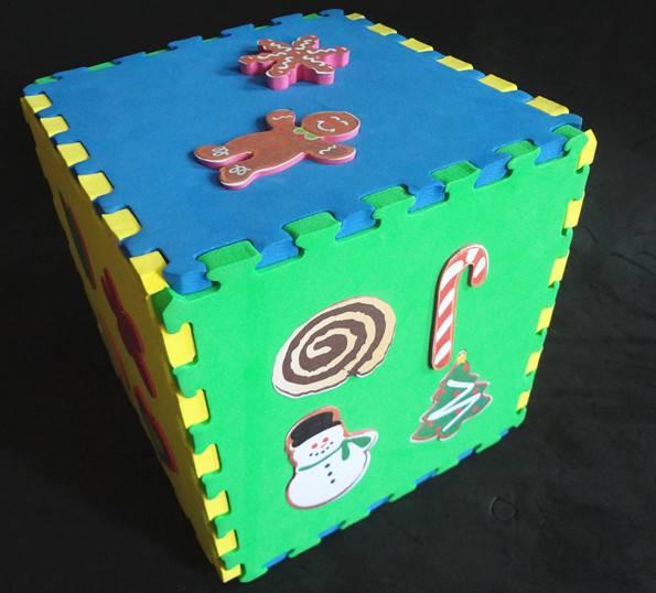 eva puzzle mat/color EVA foam Exercise mats