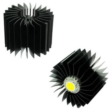 XSA-54 Xicato XSM LED heat sink,XSA-54-M3-B-N
