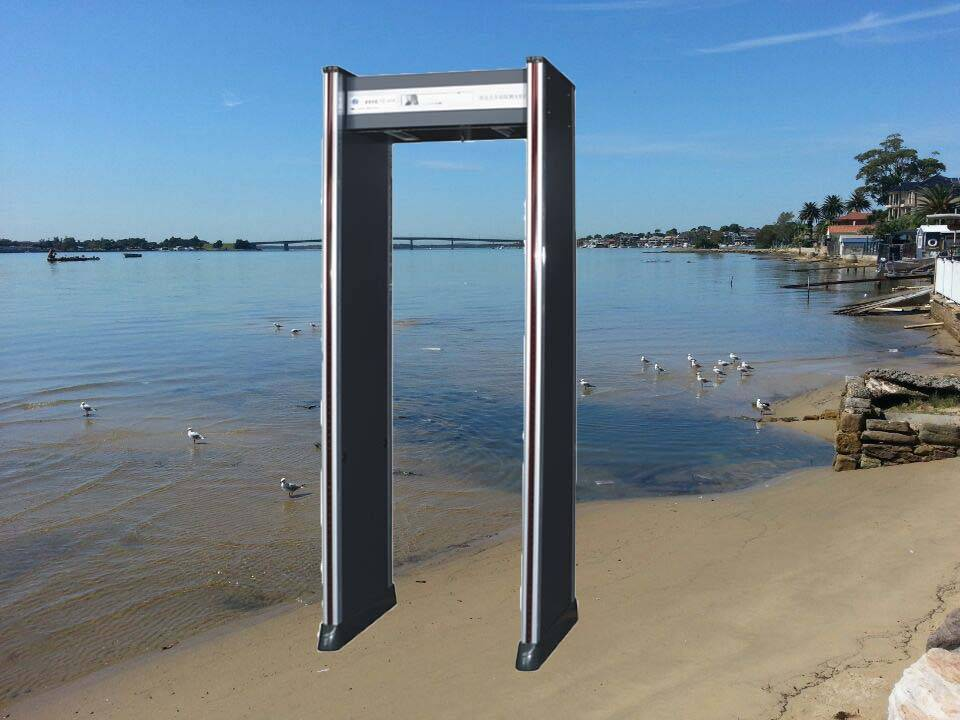 high sensitivity and strong anti-interference walk through metal detector