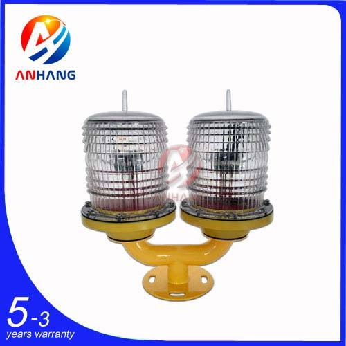 AH-LS/T Low-intensity Double Solar Powered Aviation OB Light