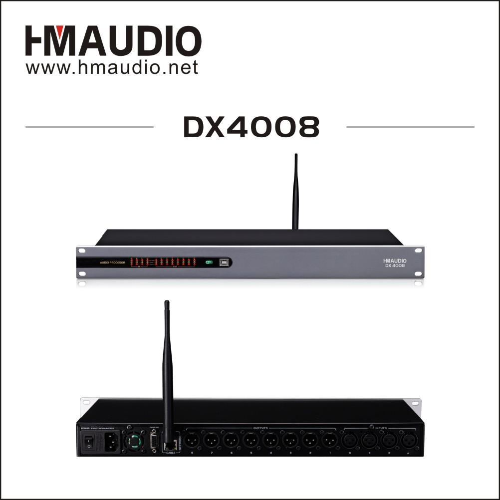 4 in 8 out digital loudspeaker management for Conference room use DX4008