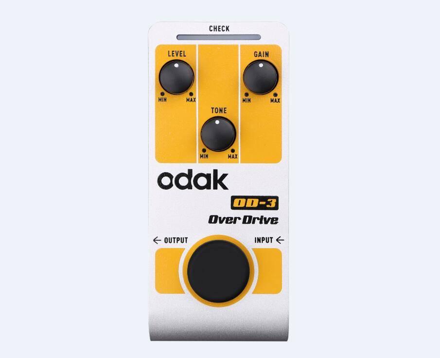 odak OD-3 odak Effectors Guitar Effect Pedal Over Drive guitar effects pedals OEM guitar pedal facto