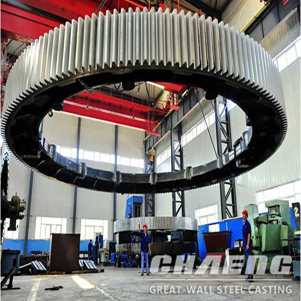 Rotary kiln girth gear manufacture and supply