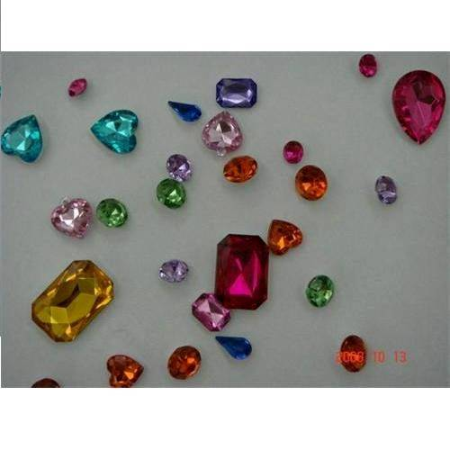 Acrylic rhinestone for clothing/ mobile/ cards decoration