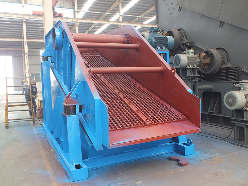 WYK series circular vibrating screen for quarry and metallurgy industry