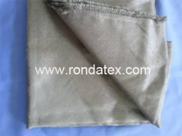 stainless steel fiber woven fabric