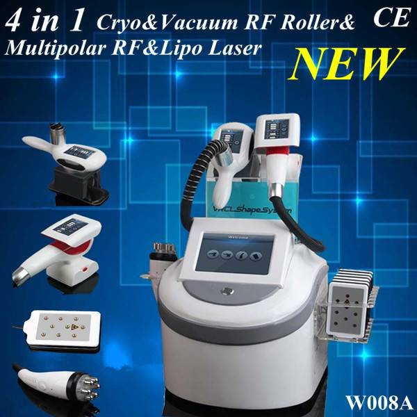 Multifunction 4 in 1 Cryolipolysis cavitation and lipo laser slimming machine,SG-W008A