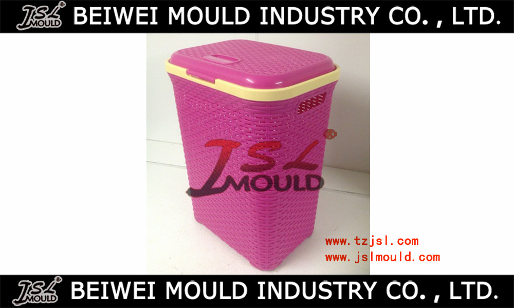 good design laundry basket injection mould