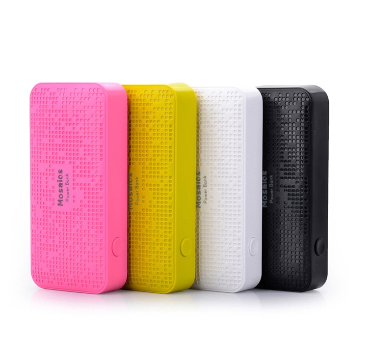 Colorful Mosaic Pattern Power Bank