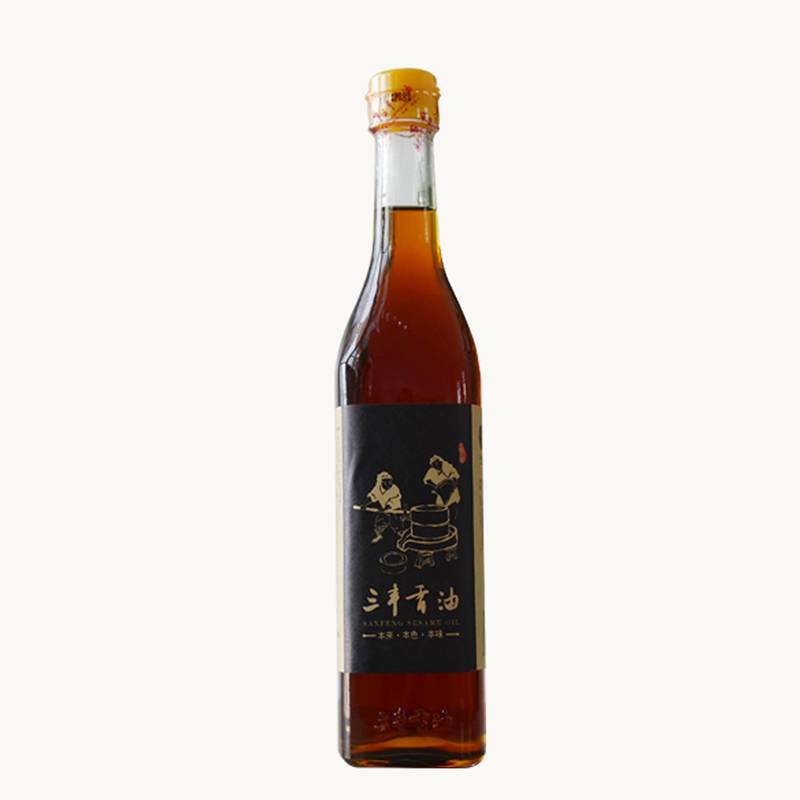 SANFENG delicate seasoning oil black sesame seed oil