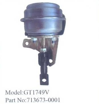 Turbocharger electronic actuator P1