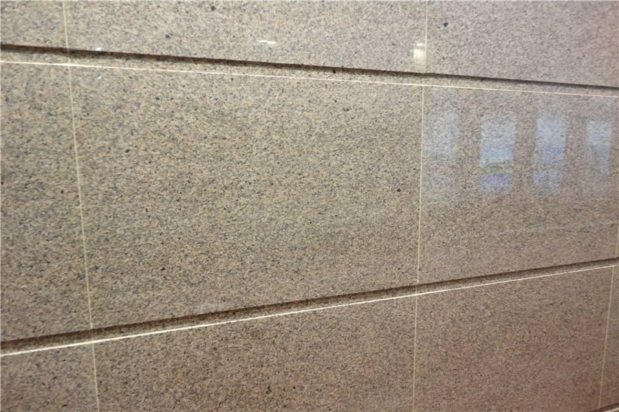 Golden Leaf Granite Walling