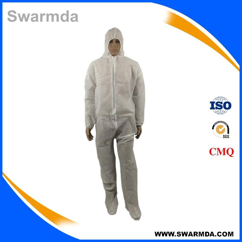 disposable polypropylene nonwoven coverall, polyethylene pp nonwoven coverall