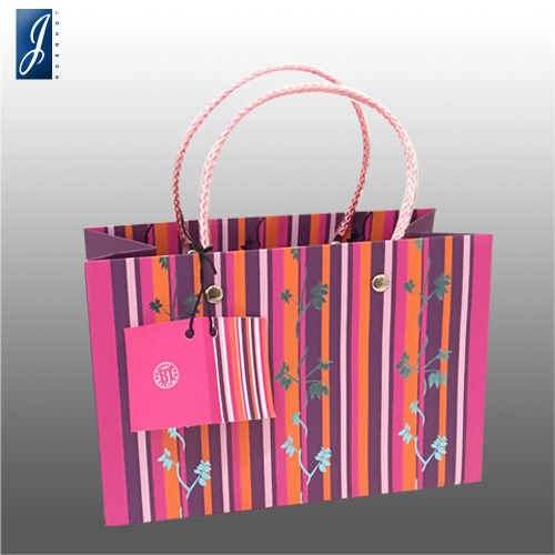 Customized gift paper bag for FLOWERS