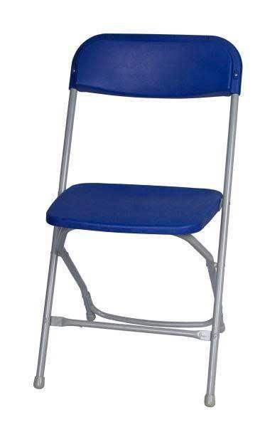 Blue Metal Plastic Folding Chairs(YOMO-001)