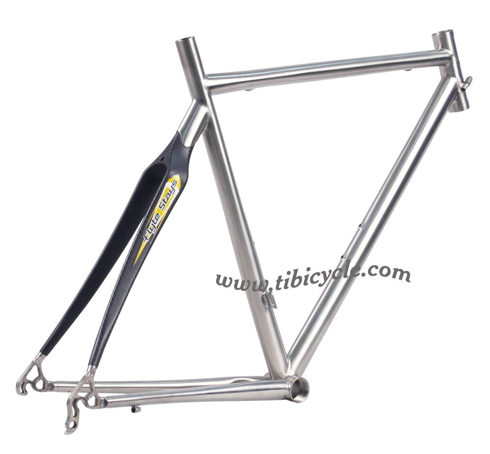 Road Titanium Bicycle Frame HLR004