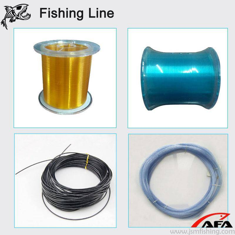 Wholesale Hand caster 100% nylon monofilament fishing line