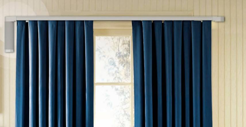 Window Treatments Motorized Curtains Track System 12 foot, IR Remote Control
