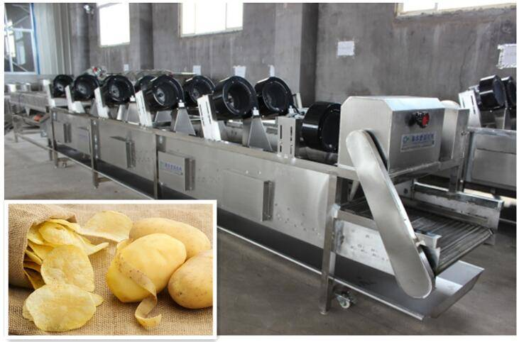 factory price potato chips production line