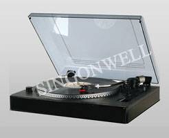 "USB turntable player in 12"" platter"