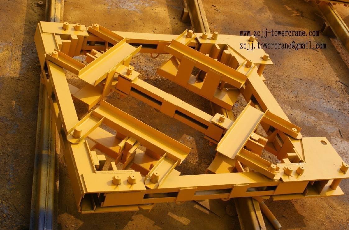Anchore frame(mast collar) for tower crane