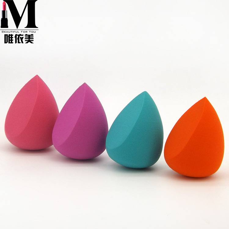 Pro Makeup Foundation Beauty Flawless Miter Droplets Sponge Puff