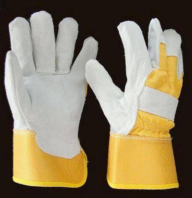 AB grade Premium Split Leather Palm gloves