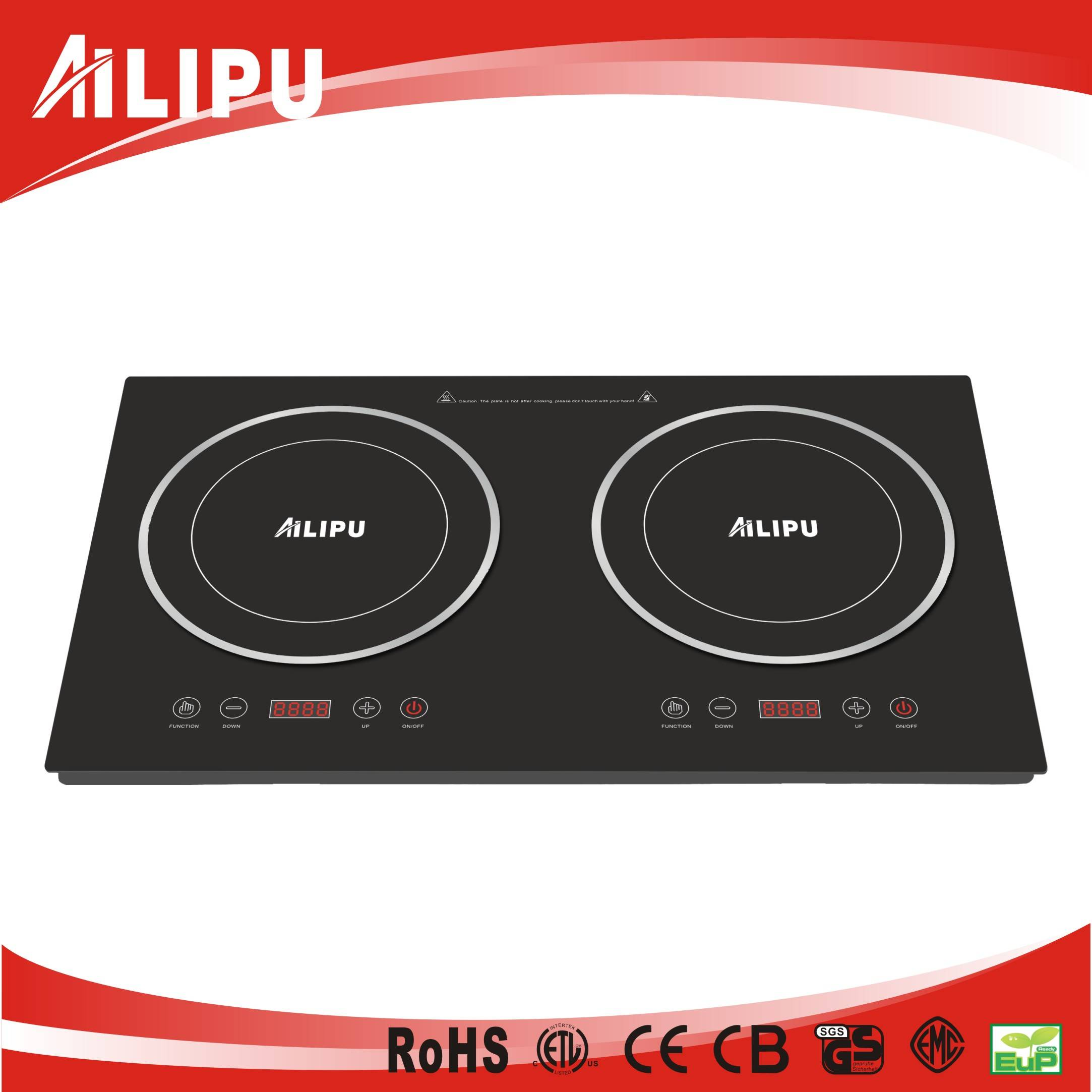 CB/CE Sencor Touch Double Burners Induction Cooktops with Anti-skiding Function SM-DIC06