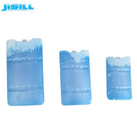 Multi Purpose Eco Friendly Reusable Blue Fan Ice Pack With Non Toxic Gel