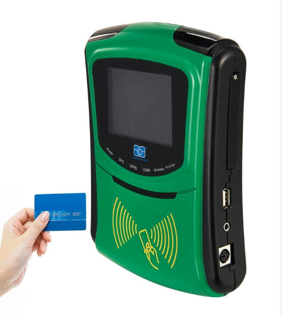 Safe School Bus Card Validating System The IC Card Reader
