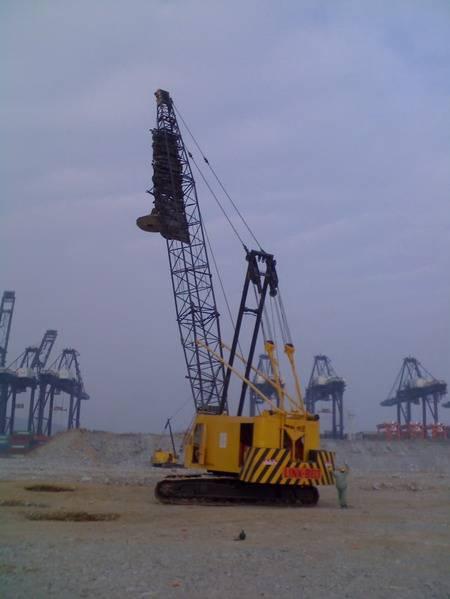 LINKBELT  LS-418J  100T used crawler crane for sale