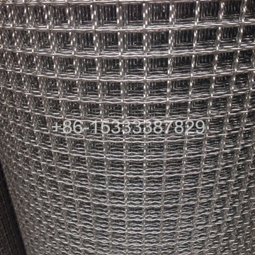 Hot-dipped Galvanized Square Hole Crimped Wire Mesh
