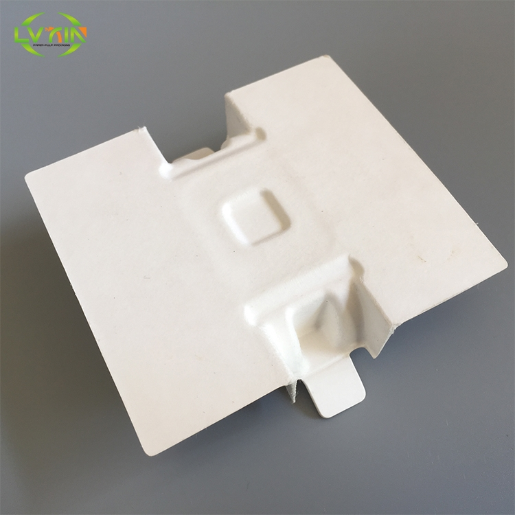 Factory selling electronic inner pulp watch packaging biodegradable tray