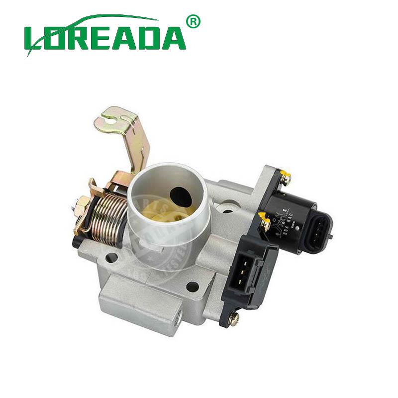 2017 New Explorer Mechanical Throttle Body for Hafei Lobo Engine Uaes System