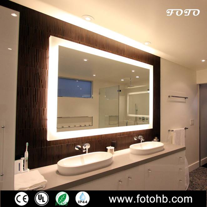 Luxury Hotel Backlit Mirror with LED Lighting