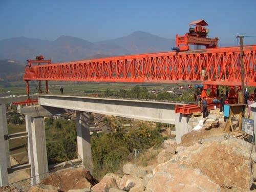 highway and railyway Bridge erection machine