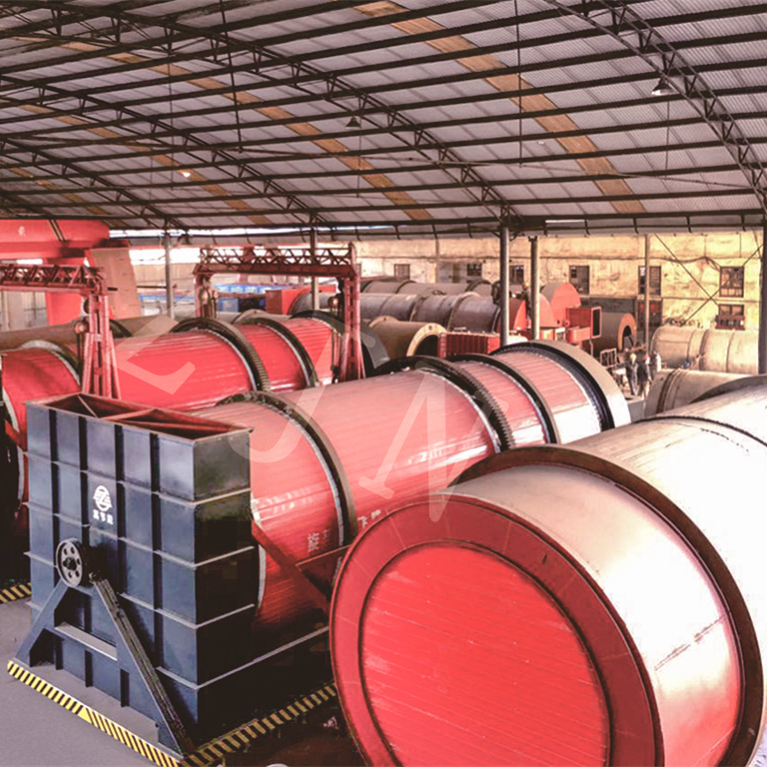 High drying efficiency Durable use rotary drum dryer