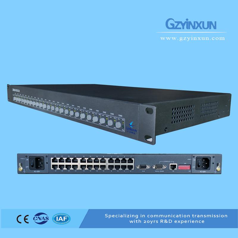 8 channel civil aviation special radar data distributor-ZMUX-DS-08