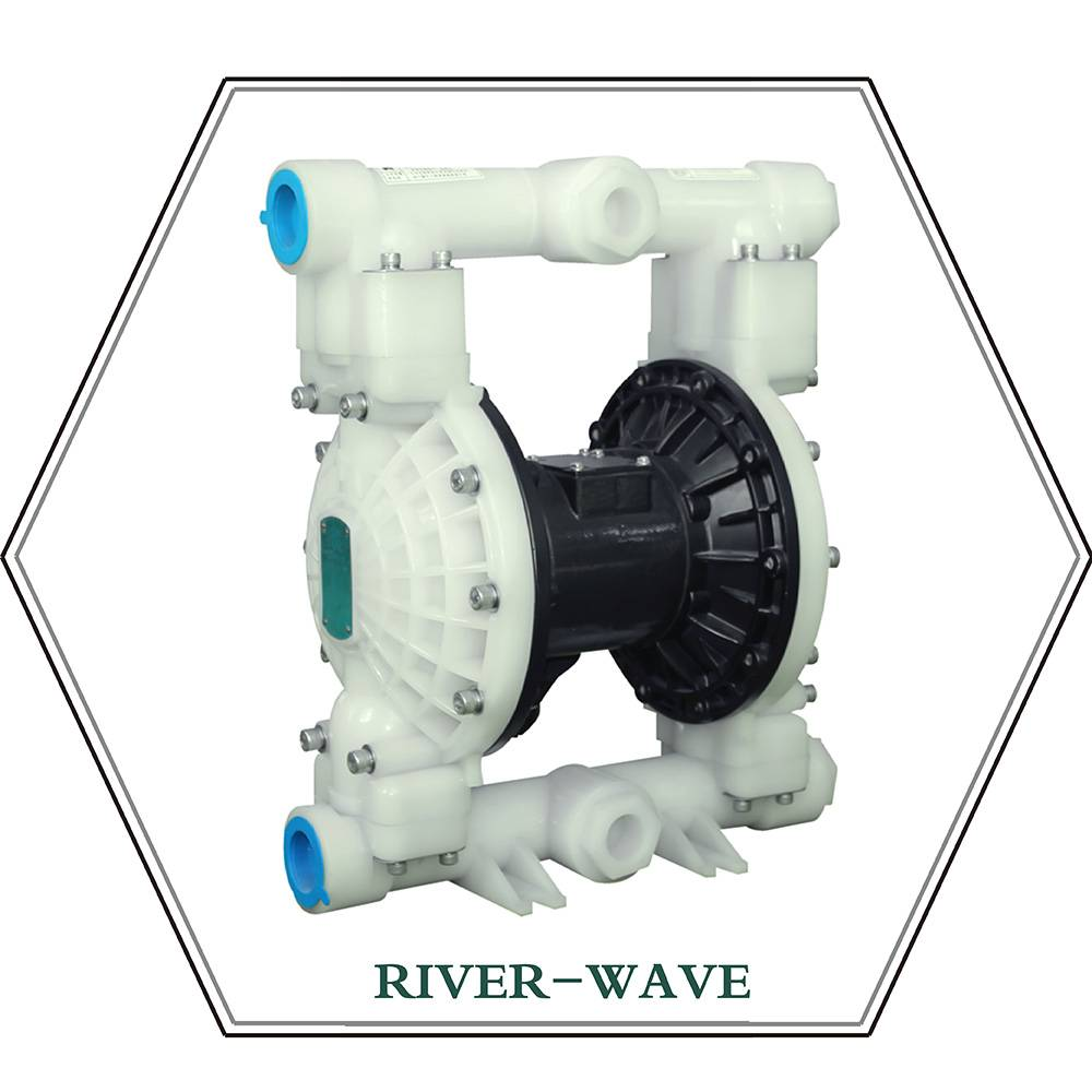 RV40 Pneumatic diaphragm pump (plastic)