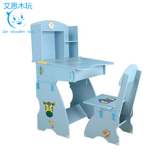 Cartoon Design Children's Wooden Tables and Chairs