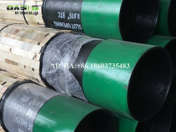Stainless Steel AISI 304 Wire Wrap Perforated Pipe Base Screen