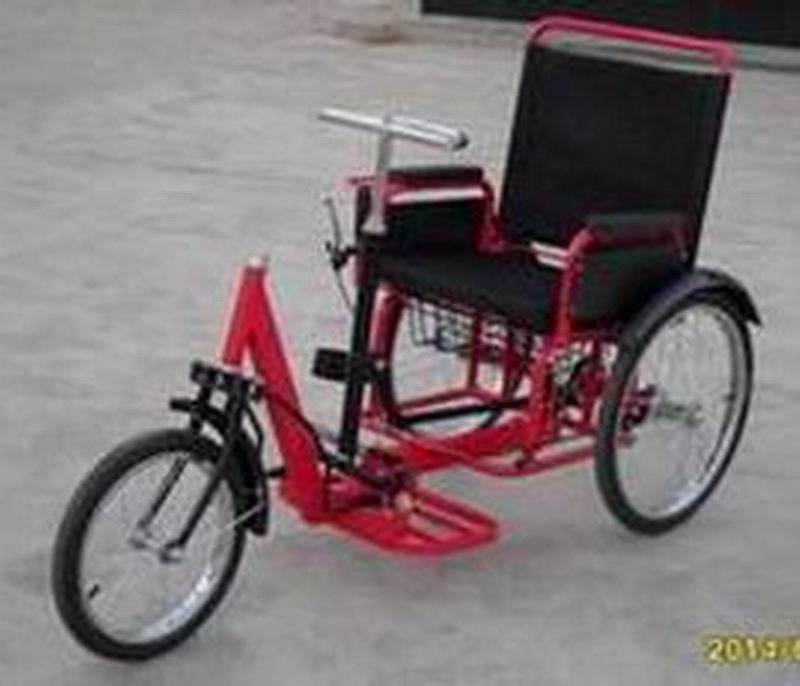self-driven tricycle ss-1