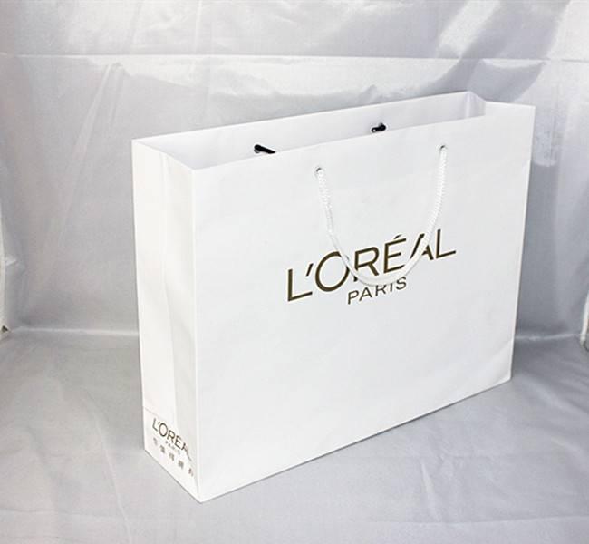 spring paper bag,shopping paper