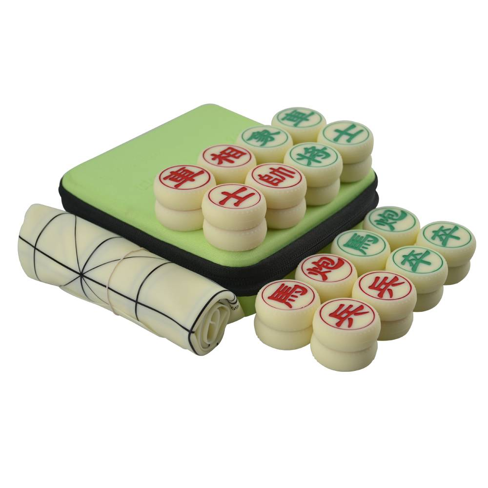 Silicon Chinese Chess Set with Silicon Chessboard