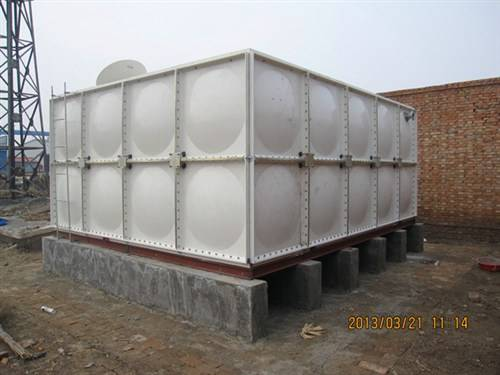 smc frp grp sectional panel water tank