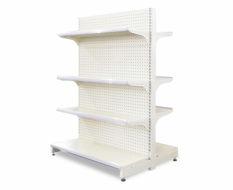 Heavy Duty Multi Layers Supermarket Display Shelf Gondola Shelving